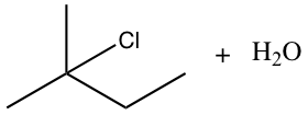 2-chloro-2-methylbutane-formation