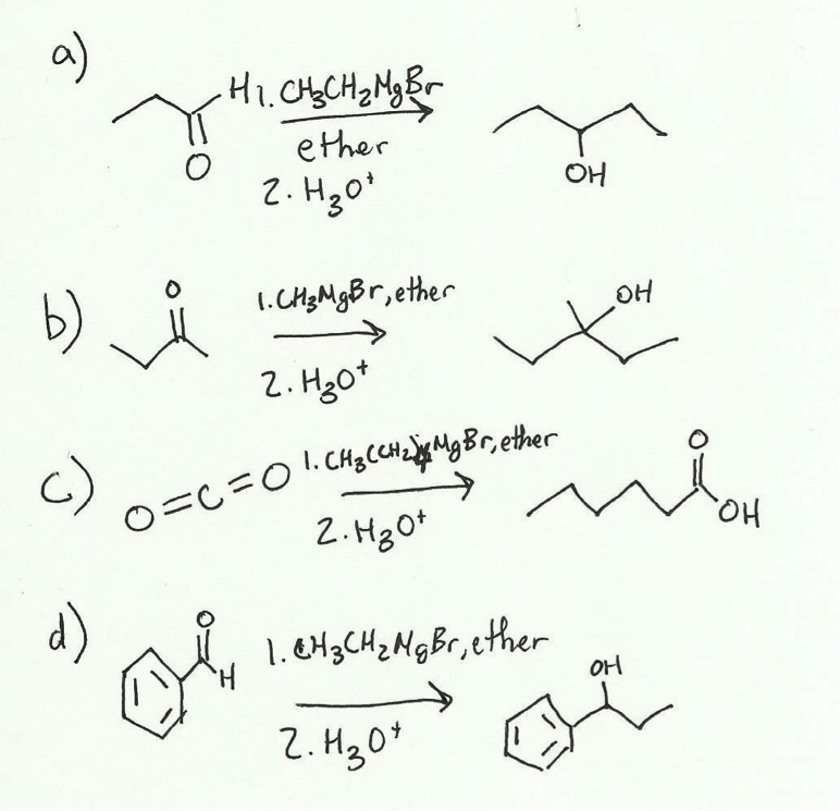 grignard synthesis of triphenylmethanol patrick Grignard reaction with a ketone: triphenylmethanol introduction: the purpose of this lab is to prepare phenylmagnesium bromide, a grignard reagent, and react it with benzophenone to give triphenylmethanol grignard reagents are very reactive and must be synthesized in an environment free of water or any other source of potential proton donor.