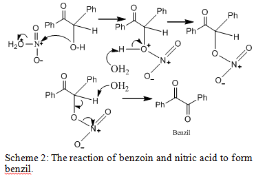 benzoin and nitric acid