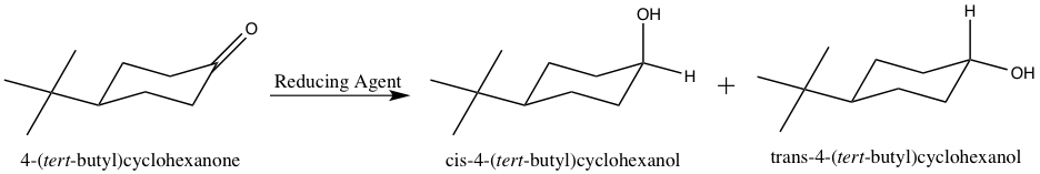 4-tert-butylcyclohexanone-reduction