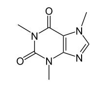 intermolecular force in caffeine