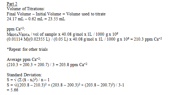 determination of hardness of water by edta titration method